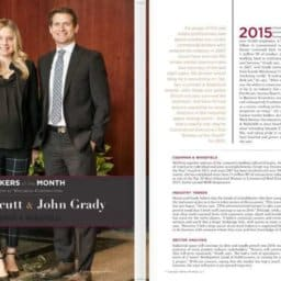 John Grady and Jackie Orcutt