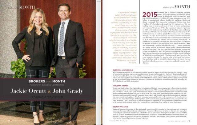 John Grady and Jackie Orcutt