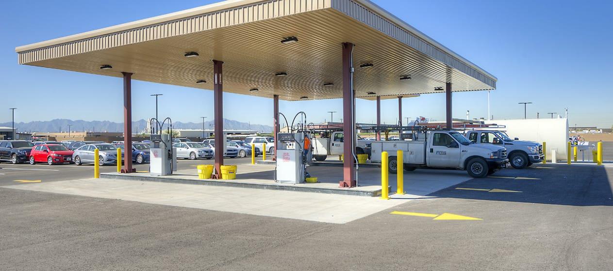 Enterprise Vehicle Storage Facility