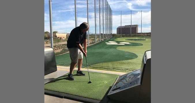 Topgolf With The DEL Foundation