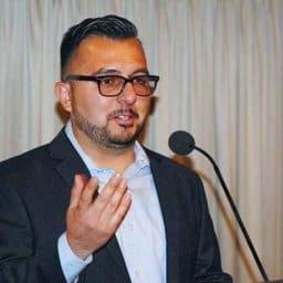 Pablo Sandoval at Aguila Youth Leadership