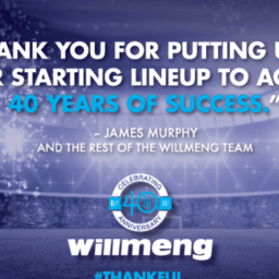 "Willmeng Construction Inc., Celebrates Four Decades Of ""Making It Happen"""