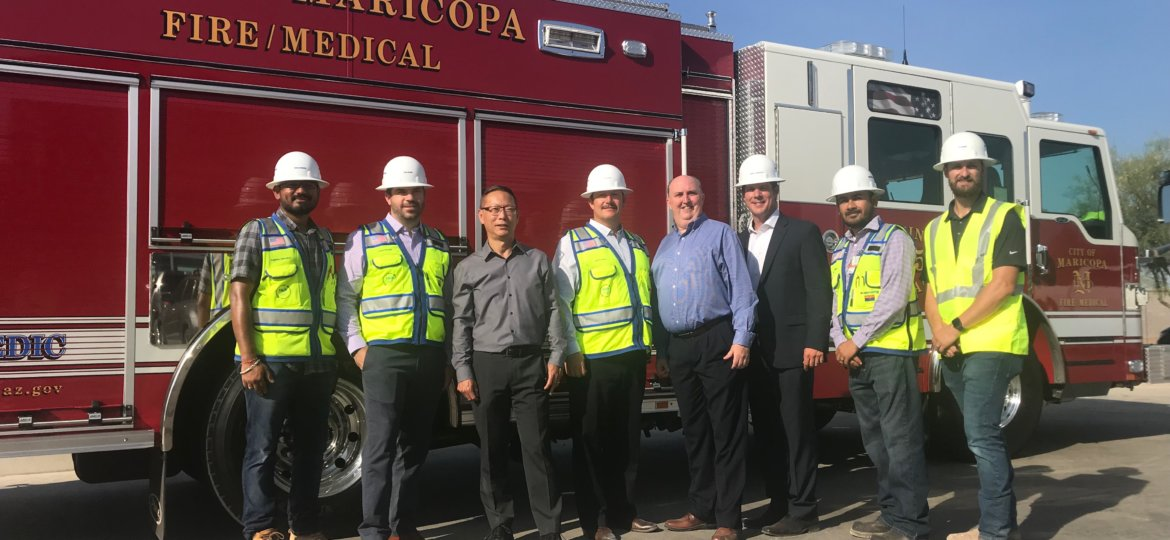 Maricopa Fire Admin Groundbreaking