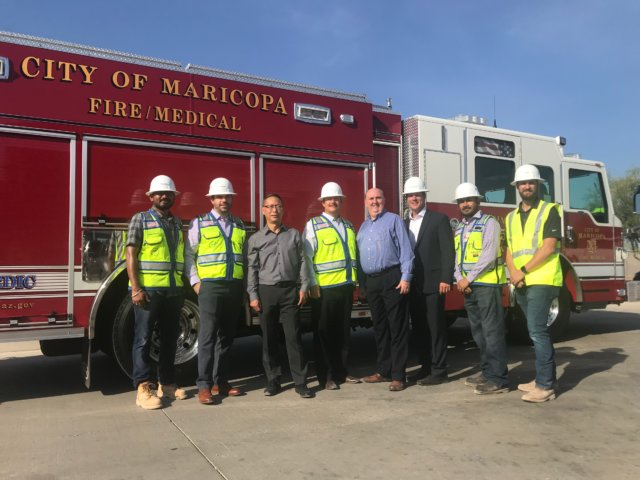 Maricopa Fire Admin Groundbreaking