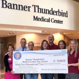 Help Fill the Toy Closet Foundation Donates $80,000 to Cardon Children's and Banner Thunderbird Medical Centers