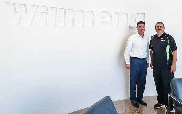 Willmeng Sponsors Johnny Johnson