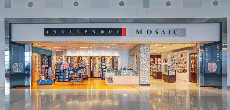 Phoenix Sky Harbor Airport Terminal 3: Indigenous-Mosaic